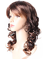 European Style Loose Wave Ombre T1B-30 Synthetic Wigs 2 Tone Ombre Color capless Wig