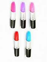 Creative Lipstick Modelling Plastic For School Supplies Office Supplies Technology Ballpoint Pens 1PC