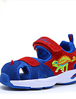 Girls' Sandals Children Summer 3D Dinosaur Shoes Kids Comfort Cowhide Summer Casual Comfort Sandals