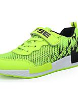 Мальчики Спортивная обувь Удобная обувь Полиуретан Весна Осень Атлетический Беговая обувь Удобная обувь Шнуровка На плоской подошве