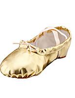 No Personalizables Mujer Ballet Cuero Sintético Planos Interior Tacón Plano Dorado Plata Rojo