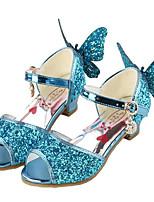 Девочки Сандалии Обувь для малышей Полиуретан Весна Осень Повседневные Для прогулок Обувь для малышей На липучках На низком каблуке