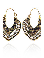 Women's Drop Earrings Acrylic Unique Design Alloy Heart Cut Jewelry For Party Daily Casual Stage Party/Cocktail