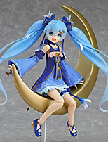 Anime Action Figures Inspired by Vocaloid Snow Miku PVC 15 CM Model Toys Doll Toy 1pc