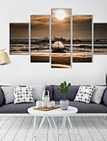 Художественная печать Пейзаж Modern,5 панелей Горизонтальная Декор стены For Украшение дома