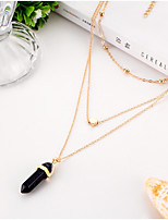 Women's Layered Necklaces Heart Alloy Turkish Euramerican Vintage Jewelry 147Party Special Occasion Birthday Daily Casual Outdoor