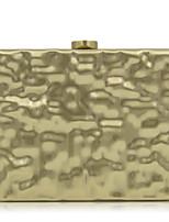 L.WEST Woman Fashion Luxury High-grade Metallic Irregular Stereoscopic Evening Bag