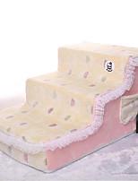 Собака Кровати Животные Коврики и подушки Животное Мягкий Желтый Розовый Светло-синий