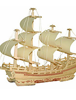Jigsaw Puzzles 3D Puzzles Building Blocks DIY Toys Ship Wood Model & Building Toy