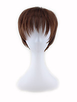 CosRooms Attack Giant Alan Jager Tea Brown COSPLAY Wig 4inch