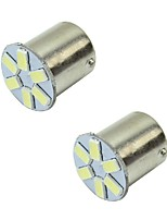 2W White DC12V  1156 1157 6LED  5630SMD Light Bulb LampTurn Signal Light Brake Light  2PCS