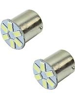 2w blanc dc12v 1156 1157 6led 5630smd ampoule lampe témoin lumineux lumière 4pcs
