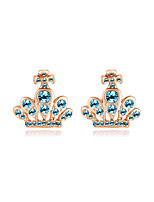 Women's Earrings Jewelry Euramerican Fashion Personalized Rhinestone Alloy Jewelry Jewelry For Wedding Party Anniversary 1 Pair