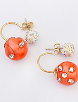 Euramerican Fashion Adorable Classic Candy Earpins Lady Party Stud Earrings Movie Jewelry