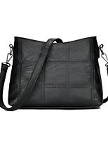 Women Shoulder Bag PU All Seasons Casual Baguette Zipper Amethyst Red Gray Black