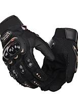 Akvitita a sport Vše Bisiklet Eldivenleri Rukavice na kolo Prodyšné Protiskluzový Nositelný Ochranný Celý prst Látka Cyklistické rukavice