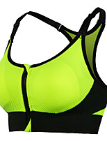 Anti-Shock Zipper Gather Sports Bra No Steel Ring Yoga Fitness Running Women's Underwear