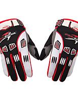 Спортивные перчатки Все Перчатки для велосипедистов Велоперчатки Дышащий Анти-скольжение Пригодно для носки Анатомический дизайнПолный