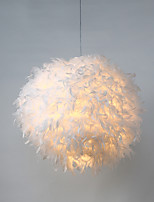 Post Modern Industrial Loft Amercian Style Feather Pendant Lamp for the Corridor / Indoor / Hotel Decorate Drop Lighting Fixture