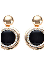 Women's Drop Earrings Bohemian Arylic Alloy Round Jewelry Party Daily Casual Stage 1 pair