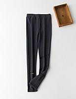 Women's Cotton 60D Solid Color Legging