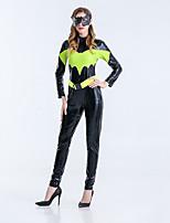 Cosplay Kostüme Superheld Bat/Fledermaus Film Cosplay Halloween Karneval Silvester Frau Terylen