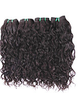 8A Brazilian Natural Wave Virgin Hair 4Bundles 400g Lot Unprocessed Human Hair Extensions Weaves For One Full Head