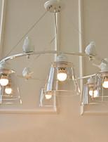 Lámparas Colgantes ,  Moderno / Contemporáneo Tradicional/Clásico Pintura Característica MetalSala de estar Dormitorio Comedor Habitación