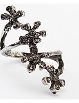 Ring Stulpring SchmuckBasis Einzigartiges Design Logo Stil Blumen Stil Britisch Langlebig Klassisch Modisch Elegant Vintage Punkstil