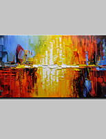 Large Hand-Painted Modern Abstract Oil Painting On Canvas Wall Art Pictures For Home Decoration Ready To Hang