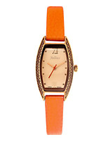 Women's Fashion Watch Quartz Water Resistant / Water Proof Leather Band Casual Black White Blue Red Orange