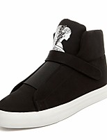 Men's Sneakers Comfort Tulle Spring Casual Comfort Black Flat