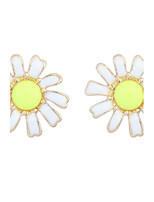 Korean Style Adorable Elegant  Flowers Stud Earrings Women's Daily Stud Earrings Movie Jewelry