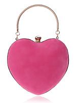 L.WEST Woman Fashion Luxury High-grade Heart Shape Evening Bag