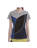 Mulheres Camiseta Acampar e Caminhar Golfe Primavera Verão