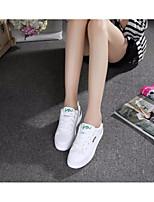 Da donna Sneakers Tulle PU (Poliuretano) Primavera Bianco Piatto