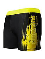 Homens Tomara-que-caia,Calcinhas, Shorts & Calças de Praia Cores Contraste Esporte Color Block