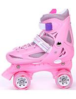 Roller Skates Adjustable Blue/Red/Pale Pink