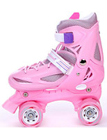 Roller Skates Einstellbar Blau/Rote/Blasse Rosa