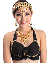 Belly Dance Jewelry Women's Performance Metal Rhinestone 2 Pieces Earrings