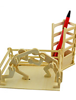Puzzles 3D - Puzzle Bausteine Spielzeug zum Selbermachen Spielzeuge Holz Model & Building Toy