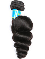 Tissages de cheveux humains Cheveux Vietnamiens Ondulation Lâche 12 mois 1 Pièce tissages de cheveux