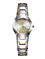 Per donna Orologio alla moda Giapponese Quarzo Digitale Calendario Resistente all'acqua Lega Banda Nero Argento Oro rosa
