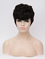 European and American Wigs Short Hair Black Natural Song Short Wig 6inch