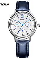 SINOBI Жен. Женские Нарядные часы Модные часы Уникальный творческий часы Китайский Кварцевый Защита от влаги Ударопрочный Кожа Группа
