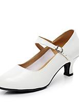 Customizable Women's Modern Leatherette Heels Indoor Customized Heel White 2