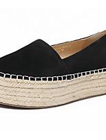 Women's Sneakers Comfort Nubuck leather Suede Spring Casual Comfort Light Brown Blue Black Flat
