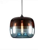 펜던트 조명 ,  컴템포러리 / 모던 페인팅 특색 for LED 금속 거실 침실 주방 욕실 학습 방 / 사무실 전구 1개