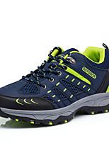 Для мужчин Туфли на шнуровке Удобная обувь Светодиодные подошвы Тюль Весна/осень Повседневные Удобная обувь Светодиодные подошвы