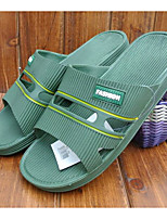 Men's Sandals Comfort PVC Spring Casual Royal Blue Green Gray Flat
